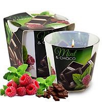 Ly nến thơm tinh dầu Bartek Mint Pear & Choco 115g QT024464 - sôcôla bạc hà (giao mẫu ngẫu nhiên)