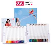 Bút chì màu gốc dầu cao cấp Deli - 48 màu - 1 Hộp - 68112