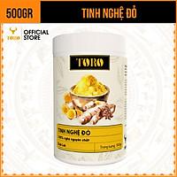 [500GR] Tinh Bột Nghệ Đỏ Toro Nguyên Chất 100% | TORO FARM