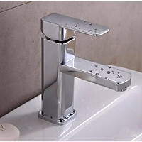 Vòi Lavabo vuông ITALIA Vòi bồn rửa chất lượng cao + Đôi dây cấp (Kiểu vuông)