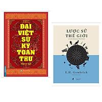 Combo 2 cuốn: Đại Việt Sử Ký Toàn Thư Trọn Bộ  + Lược Sử Thế Giới