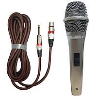 Micro Karaoke có dây SHUBOLE SL370 cao cấp - chất âm mượt mà, hút mic, không vỡ tiếng - Hàng chính hãng