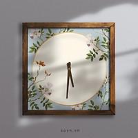 Đồng hồ treo tường canvas Artclock Soyn C46