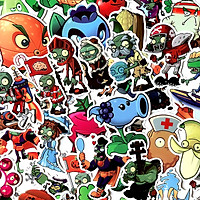 Set 60 Sticker Plant vs zombies
