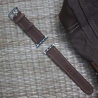 Dây đồng hồ dành cho Apple What  Da Bò sáp 2 lớp [tặng kèm khóa + cây thay dây ]