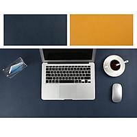 Bàn di chuột, miếng lót chuột, deskpad thảm da trải bàn làm việc hai mặt chống nước Size 60x30cm / 80x40cm / 90x45cm /120x60cm