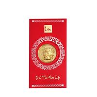 Mặt vàng 24k Kim Sửu túi tiền Kèm bao lì xì - AG9992.Q002.01C