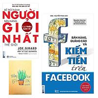 Combo Bán Hàng, Quảng Cáo Và Kiếm Tiền Trên Facebook và Để Trở Thành Người Bán Hàng Giỏi Nhất Thế Giới ( Tặng Kèm Sổ Tay Xương Rồng)