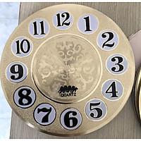 Mặt số đồng hồ xi vàng