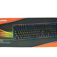Bàn phím Newmen quang cơ Gaming GM550 full led _Hàng chính hãng