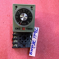 Relay thời gian CKC AH3-3 -12 H cả đế (1 bộ )