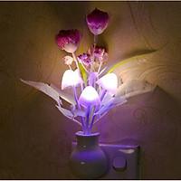 Đèn ngủ cảm ứng hình bình hoa ( giao hình ngẫu nhiên )