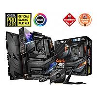 Mainboard MSI MEG Z490 GODLIKE (Intel Z490, Socket 1200, E-ATX, 4 khe RAM DDR4) Hàng Chính Hãng