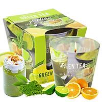 Ly Nến Thơm Tinh Dầu Bartek Green Tea 115g QT04964 - Matcha Trà Xanh (giao mẫu ngẫu nhiên)