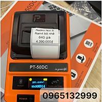 Máy in cầm tay PT-50DC dán decal lên sản phẩm trực tiếp