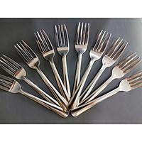 Set 10 nĩa ăn inox cho gia đình, quán ăn