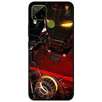 Ốp lưng dành cho Realme C15 mẫu Người Sắt Mắt Vàng
