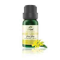 Tinh dầu Ngọc Lan Tây 24Care 10ML - Chiết xuất thiên nhiên, thanh lọc không khí, tập trung tinh thần, cải thiện tâm trạng.
