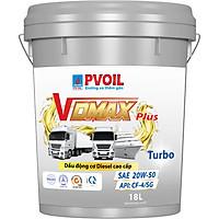 DẦU NHỚT  PV OIL VDMAX PLUS TURBO 20W50/18L