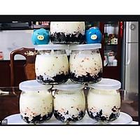 Bộ 12 hũ thủy tinh cao cấp làm sữa chua tại nhà vô cùng an toàn khi sử dụng