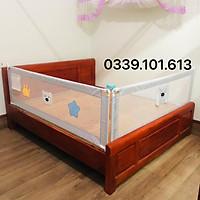 Thanh chắn giường - bản nâng cấp 2021 - An toàn cho trẻ nhỏ (Đơn giá /01 Thanh)