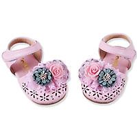 Giày sandal cho bé gái 1 – 3 tuổi đính hoa điệu đà – S9