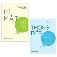 Sách ComBo 2 Cuốn: Bí Mật Sau Những Hành Vi Nhỏ + Thông Điệp Từ Những Biểu Cảm Và Ngôn Ngữ Cơ Thể