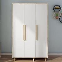 Tủ quần áo bằng gỗ có 3 cánh, tủ quần áo TUR034