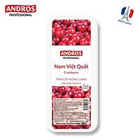 [Chỉ giao HCM] - ANDROS - Nam việt quất đông lạnh (Frozen Cranberry) - Hộp 500g