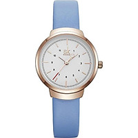 Đồng hồ nữ chính hãng Shengke Korea K8035L-03 Xanh