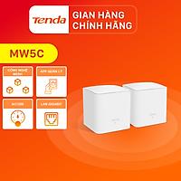 Tenda Hệ thống Wifi Nova Mesh cho gia đình MW5C Chuẩn AC 1200Mbps 2 pack - Hàng Chính Hãng