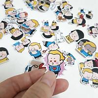 Set 60 Sticker MiM & Yam