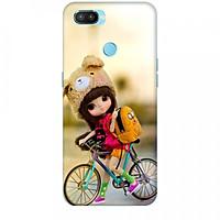 Ốp lưng dành cho điện thoại OPPO REALME 2 PRO Baby anh Bicycle Mẫu 2