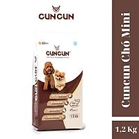 Thức ăn cho chó Cuncun DOG PLUS++ (Hạt chó mini gói 1,2kg)