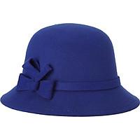 Nón mũ đội đầu nữ dạo phố 4 mùa thắt nơ 1 mầu (MU03)
