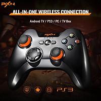 Tay cầm chơi game không dây PXN 9613 Black Bluetooth form XBOX dành cho PC / Android / Smart TV / PS3 - - HÀNG CHÍNH HÃNG