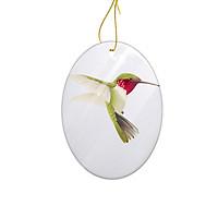 Miếng Sứ Trang Trí In Hình Chú Chim Nhiều Màu Sắc - Mẫu003