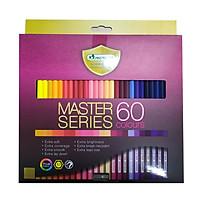 Bộ bút chì màu cao cấp MasterArt Series 60 màu (Thái Lan)