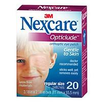 Miếng dán mắt/Băng dán mắt điều trị nhược thị Nexcare cỡ lớn cho trẻ trên 4 tuổi(Hộp 20 miếng)
