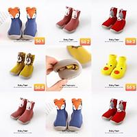 343# Giày bún cao cổ mẫu mới siêu mềm cho bé trai/gái hàng quảng châu cao cấp