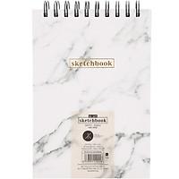 Sổ Vẽ Lò Xo Khai Trí M-Art Sketchbook Simply Daily - Size S ( 90 Trang )