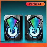 Loa máy tính Game thủ LDK.ai RGB 2.1 LeeFei - Hàng chính hãng