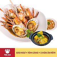 Vua Cua - Voucher Combo Bào Ngư & Tôm Càng