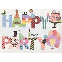 Dây Cờ trang trí tiệc Happy  Party