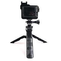 Chân đế 3 chân kiêm tay cầm gắn điện thoại, quay phim, chụp hình