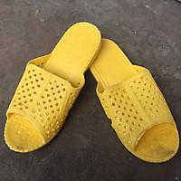 10 đôi dép tổ ong thái xin màu vàng MP05