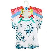 Set 5 Áo Tay Ngắn Cho Bé Gái Baby Wear (Màu Ngẫu Nhiên)