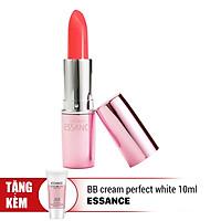Son Dưỡng Ẩm Bền Màu Essance Blooming Kiss #245 Fresh Orange 3.5g - Tặng BB Cream Perfect White 10ml