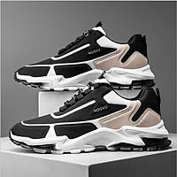 Giày nam, giày thể thao nam vải dệt siêu nhẹ, siêu êm chân, chất liệu cao cấp AVI - 385