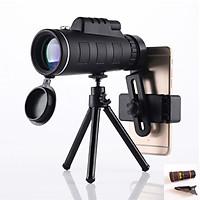 Ống Nhòm Đơn 1 Mắt Kẹp Điện Thoại - Phụ Kiện Chuyên Dụng Để Chụp Ảnh Bằng Điện Thoại - Chụp Siêu Xa - Chống Thấm Nước - Độ Nét Cao - Tặng Kèm 1 Mắt Lens Điện Thoại